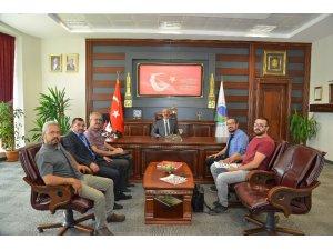 KAEÜ'sinden bölgesel kalkınmaya destek amaçlı görüşme