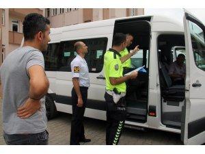 Giresun'da okul servis şoförleri bilgilendirildi