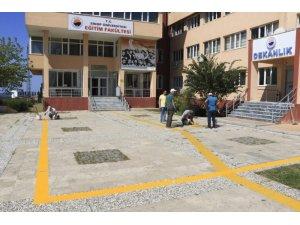 Sinop Üniversitesi dumansız hava sahasında