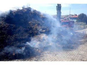 Sungurlu'da yangın
