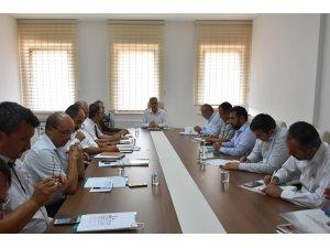 Karaman'da ilçe milli eğitim müdürleri toplantısı yapıldı