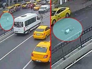 Beşiktaş'ta alkollü sürücü dehşeti! Görme engelli genç kıza çarpıp kaçtı...