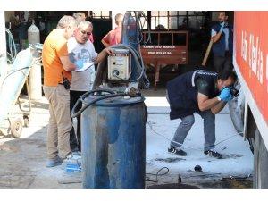 Karaman'da kaynak yapılan yakıt deposu patladı: 3 yaralı