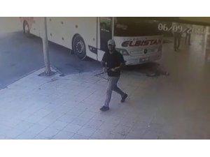 Av tüfeği ile saldırı kamerada