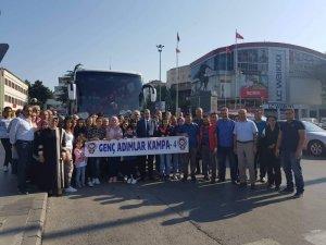 Niğdeli gençler Osmaniye'ye gitti