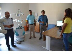 Doç. Dr. Sünnetçioğlu, Gürpınar Devlet Hastanesi'nde incelemelerde bulundu
