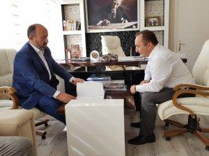 Kavuncu'dan Başkan Sülük'e ziyaret