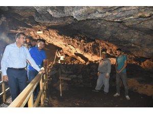 Tarihi Sulu Mağara'da yeni bir galeri tespit edildi