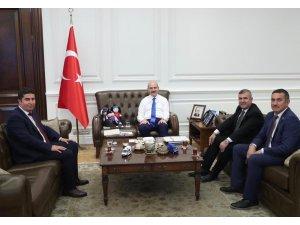 Maviş'ten yoğun Ankara mesaisi
