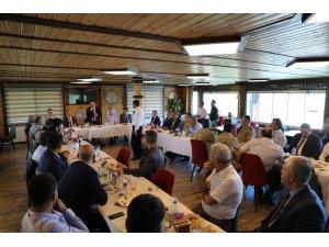 Jandarma Kıdemli Albay Hasan Aksoylu için veda yemeği düzenlendi