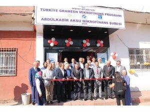 Midyat'ta mikrofinans şubesi açıldı