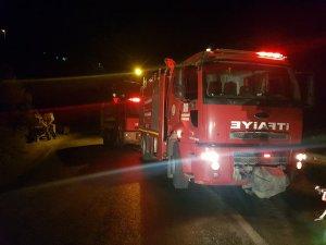 Samandağ'da orman yangını kontrol altına alındı