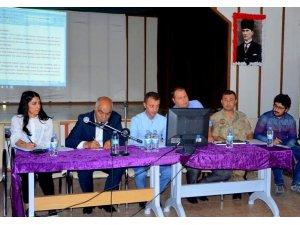 İliç ilçesinde okul güvenliği toplantısı yapıldı