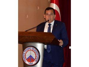 """TTSO Başkanı Hacısalihoğlu: """"Yatırım Adası'na tüm şehir sahip çıkmalı"""""""