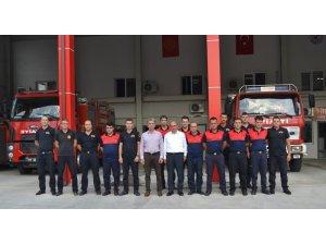 Altınova'da itfaiye teşkilatları fiilen ayrıldı