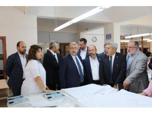 Kavuncu, Silivri ve Bakırköy Kadın İnfaz Kurumu'ndaki incelemelere katıldı