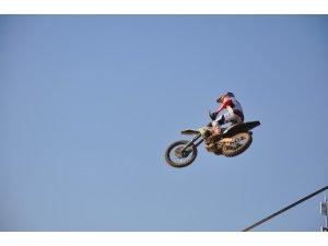 Dünya Motokros Şampiyonası eleme yarışı yapıldı