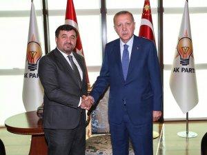 Başkan Şenlikoğlu  Cumhurbaşkanı Erdoğan'ın yanından müjdeyle döndü