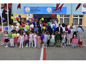 Başkan Erdoğan, öğrencilerin heyecanını paylaştı