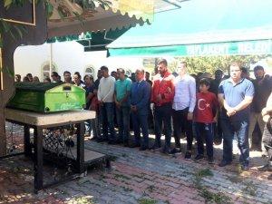 Milli sporcu tarafından bıçaklanan Özdemir toprağa verildi
