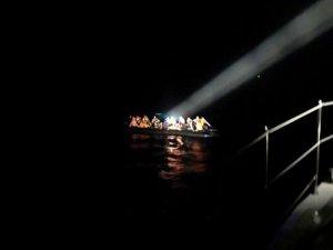 Edirne açıklarında 38 düzensiz göçmen yakalandı
