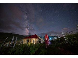 Giresun'da gökyüzü ve yıldızlar fotoğrafçıların ilgi odağı oldu