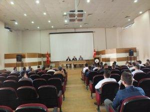 Malazgirt'te okul müdürleri toplantısı