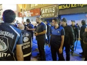 Van Büyükşehir Belediyesi'den seyyar satıcı denetimi