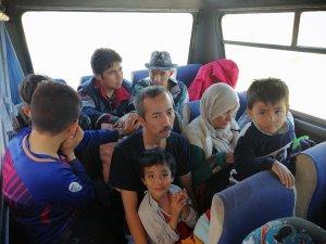 Çanakkale'de 144 mülteci yakalandı