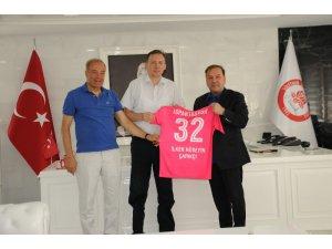 SDÜ ve Ispartaspor arasında kent için güç birliği
