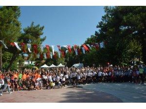 Yaz Spor Kursları kapanış şenliği yapıldı
