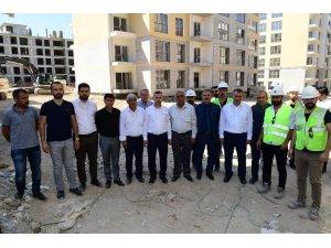 Başkan Çınar, 'Kentsel gelişim ve dönüşüm proje' alanını inceledi