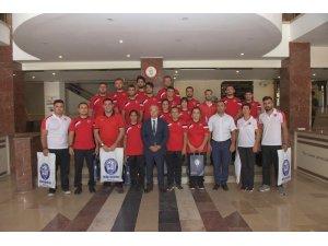 Başkan Kayda, İşitme Engelli Judo Milli Takımını ağırladı