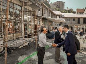"""Bitlis Belediyesi'nin """"Sokak sağlıklaştırma projesi"""" devam ediyor"""