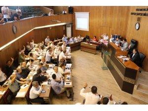 Büyükşehir komisyon toplantısı