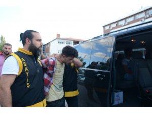 Aksaray'da firar eden yabancı uyruklu şahıs drone ile yakalandı