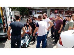 Tekirdağ'da motosiklet kazası: 1 yaralı