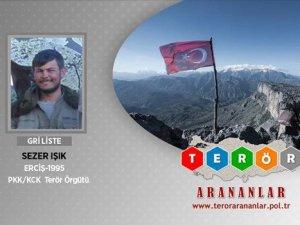 Gri listede aranan PKK'lı terörist öldürüldü!