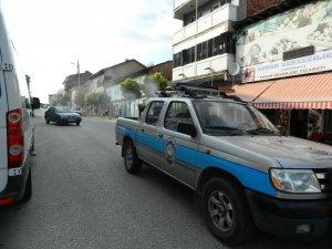 Pazaryeri'nde sokaklar haşerelere ve sineklere karşı ilaçlanıyor