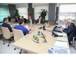 Bursaspor yönetiminden Başkan Erdem'e ziyaret