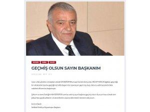Kayserispor Başkanı Erol Bedir, Mamur için mesaj yayınladı