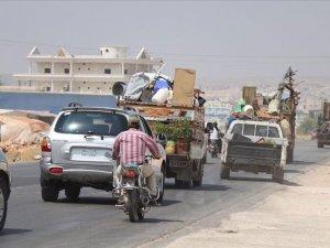 İdlib'de Esad zulmü! 1 yılda 1 milyon kişi göç etti