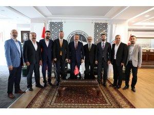 Yozgatlı Dernekler Federasyonun'ndan Palancıoğlu'na Ziyaret