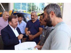 """AK Parti Giresun Milletvekili Sabri Öztürk: """"Üretici, TMO alımlarından memnun"""""""