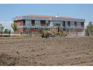 Yeni Malatyaspor 'Futbol Köyü' projesi için ilk kazmayı vurdu