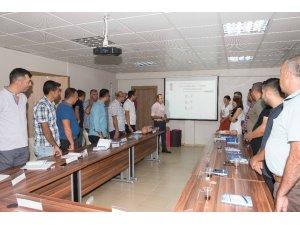 Büyükşehir personeline ilk yardım eğitimi