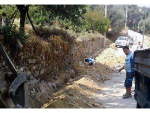 Kultak Mahallesi'nin İçme Suyu hatları yenileniyor