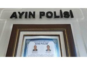 Samsun'daki aile katliamını önleyen polisler 'ayın polisi' seçildi