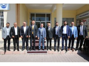 Yozgatlılar Federasyonu'ndan Başkan Özdoğan'a Ziyaret