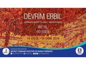 Devrim Erbil'in '60 Yıl 60 Eser' sergisi Bodrumlularla buluşuyor